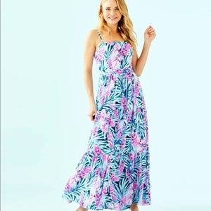 Lilly Pulitzer Aviana Maxi Dress NWT